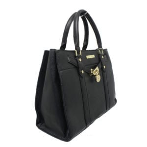 Structured Handbag with Silver Detail